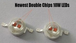 King Plus 1000w 10w Double chips LEDs